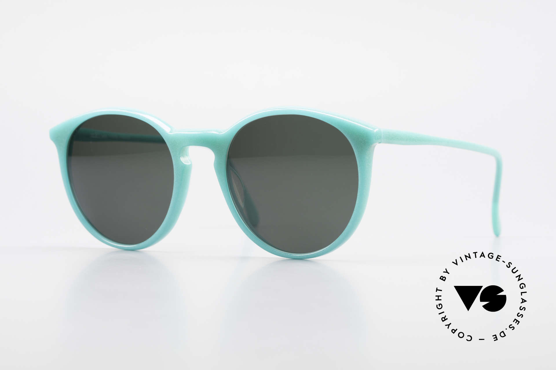 Alain Mikli 901 / 079 Green Pearl Panto Sunglasses, elegant VINTAGE Alain Mikli designer sunglasses, Made for Men and Women