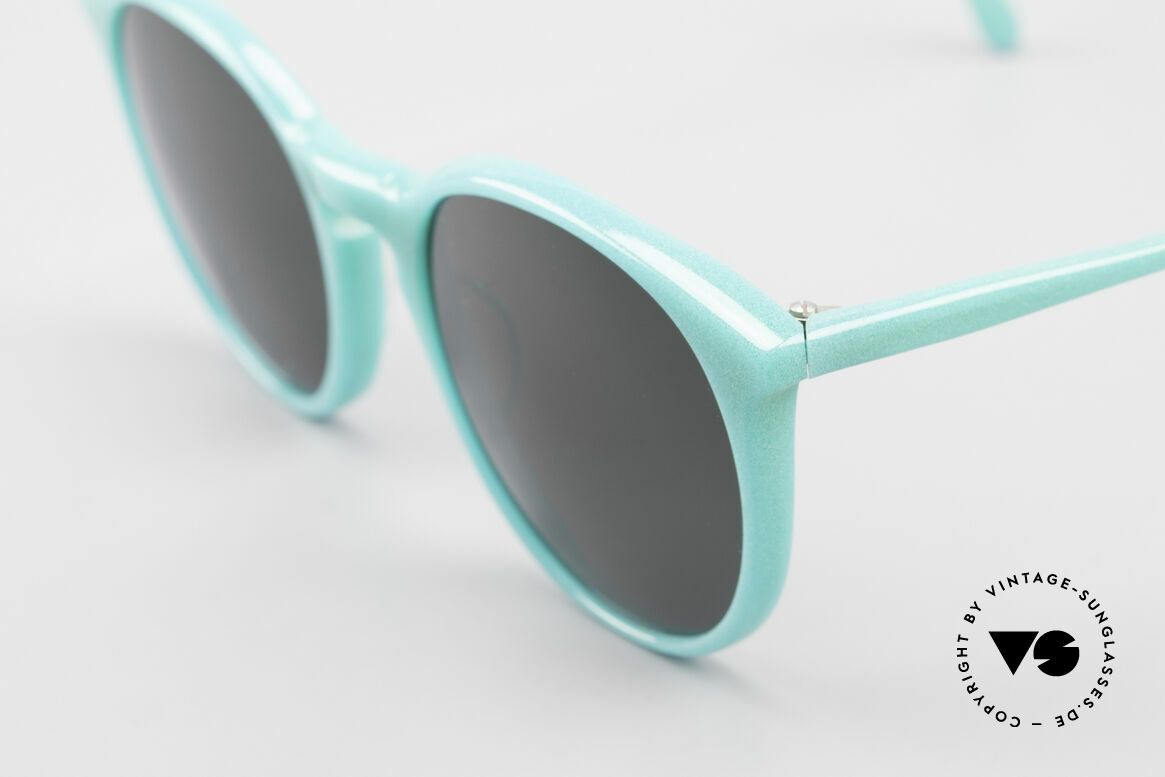 Alain Mikli 901 / 079 Green Pearl Panto Sunglasses, handmade quality and 125mm width = S - M size!, Made for Men and Women