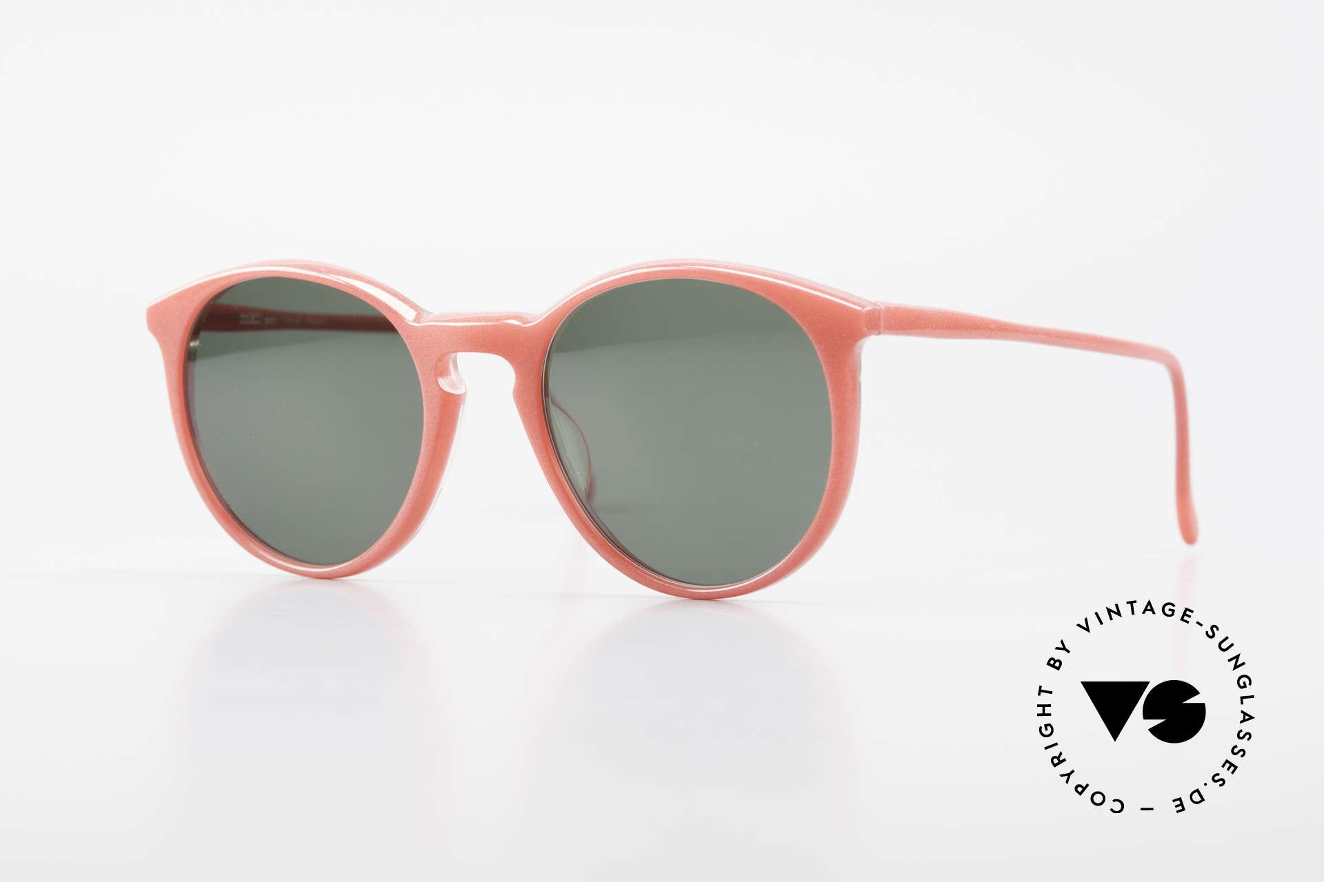 Alain Mikli 901 / 086 Red Pearl Panto Sunglasses, elegant VINTAGE Alain Mikli designer sunglasses, Made for Men and Women