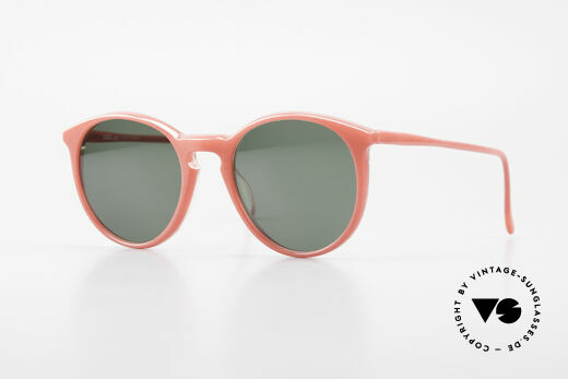 Alain Mikli 901 / 086 Red Pearl Panto Sunglasses Details