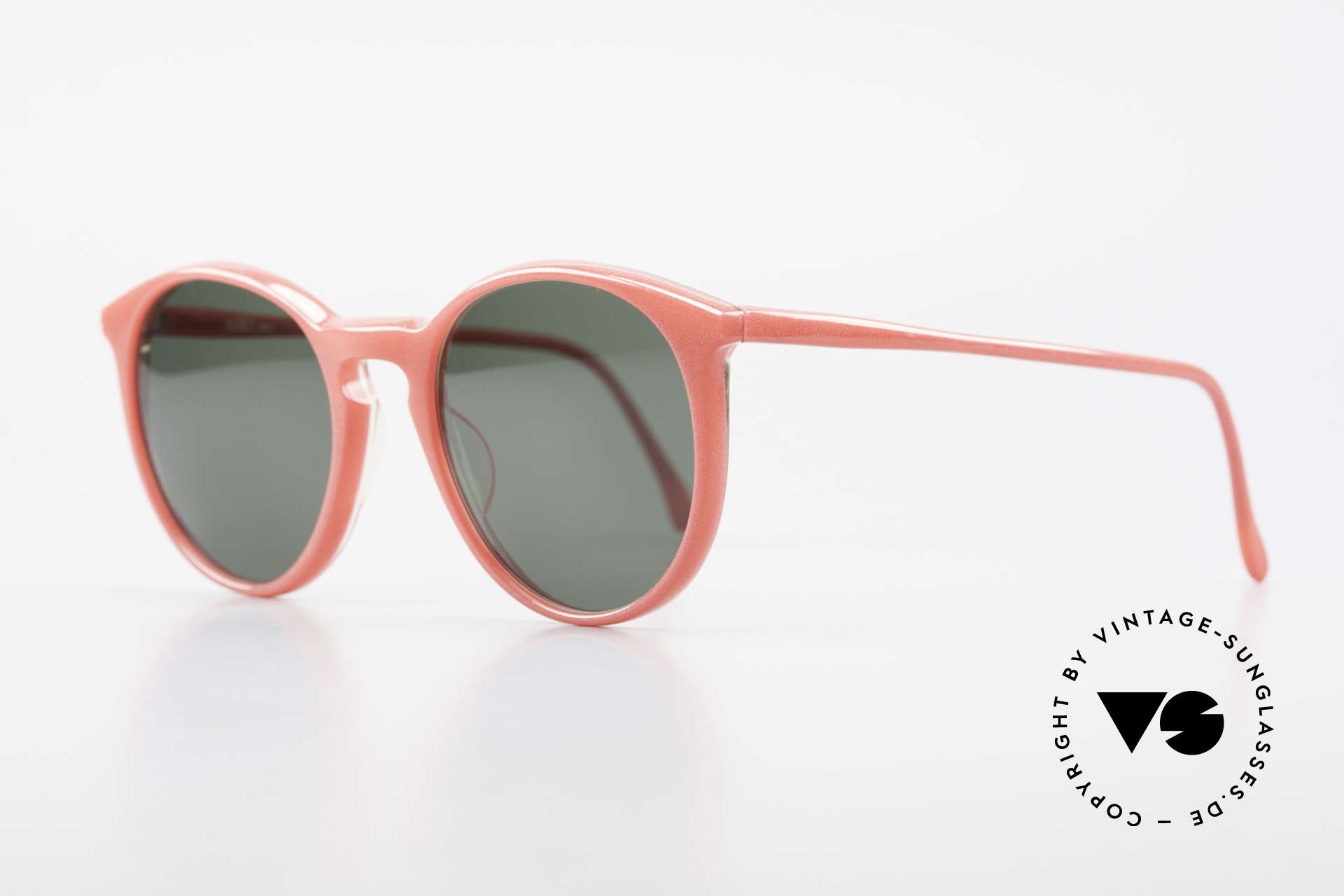 Alain Mikli 901 / 086 Red Pearl Panto Sunglasses, interesting frame color = shines like a red pearl, Made for Men and Women