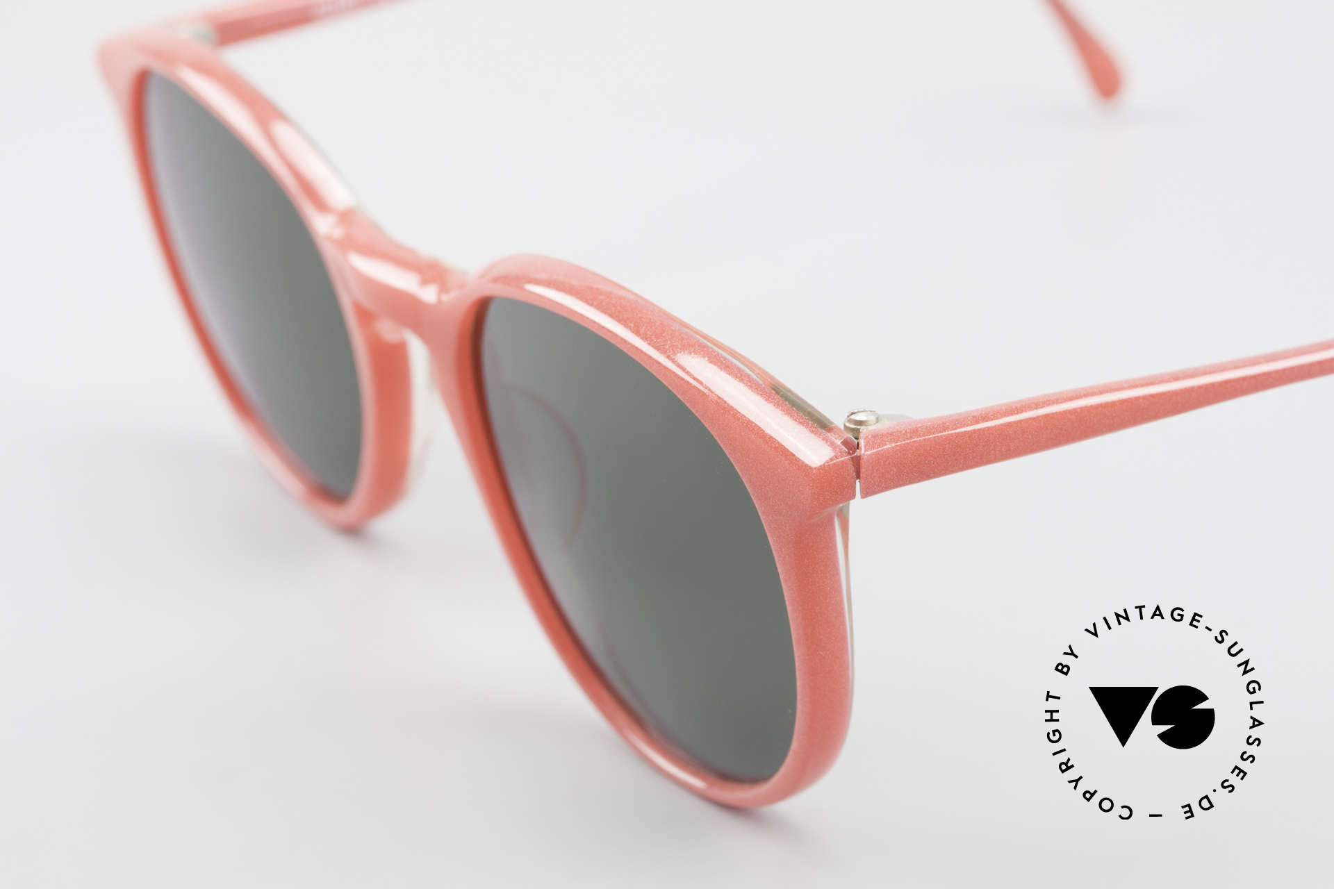 Alain Mikli 901 / 086 Red Pearl Panto Sunglasses, handmade quality and 125mm width = S - M size!, Made for Men and Women