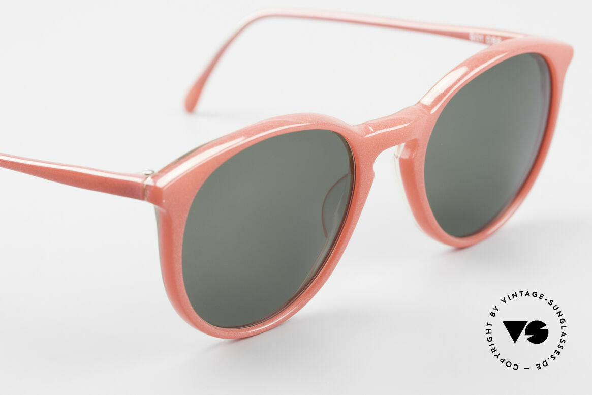 Alain Mikli 901 / 086 Red Pearl Panto Sunglasses, never worn (like all our vintage Alain Mikli specs), Made for Men and Women