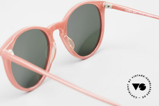 Alain Mikli 901 / 086 Red Pearl Panto Sunglasses, NO RETRO shades, but an old ORIGINAL from 1989, Made for Men and Women