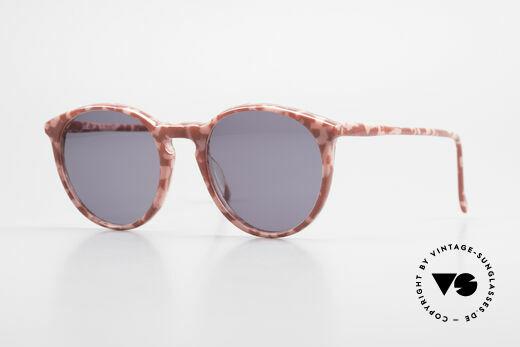 Alain Mikli 901 / 172 Panto Shades Red Pink Marbled Details