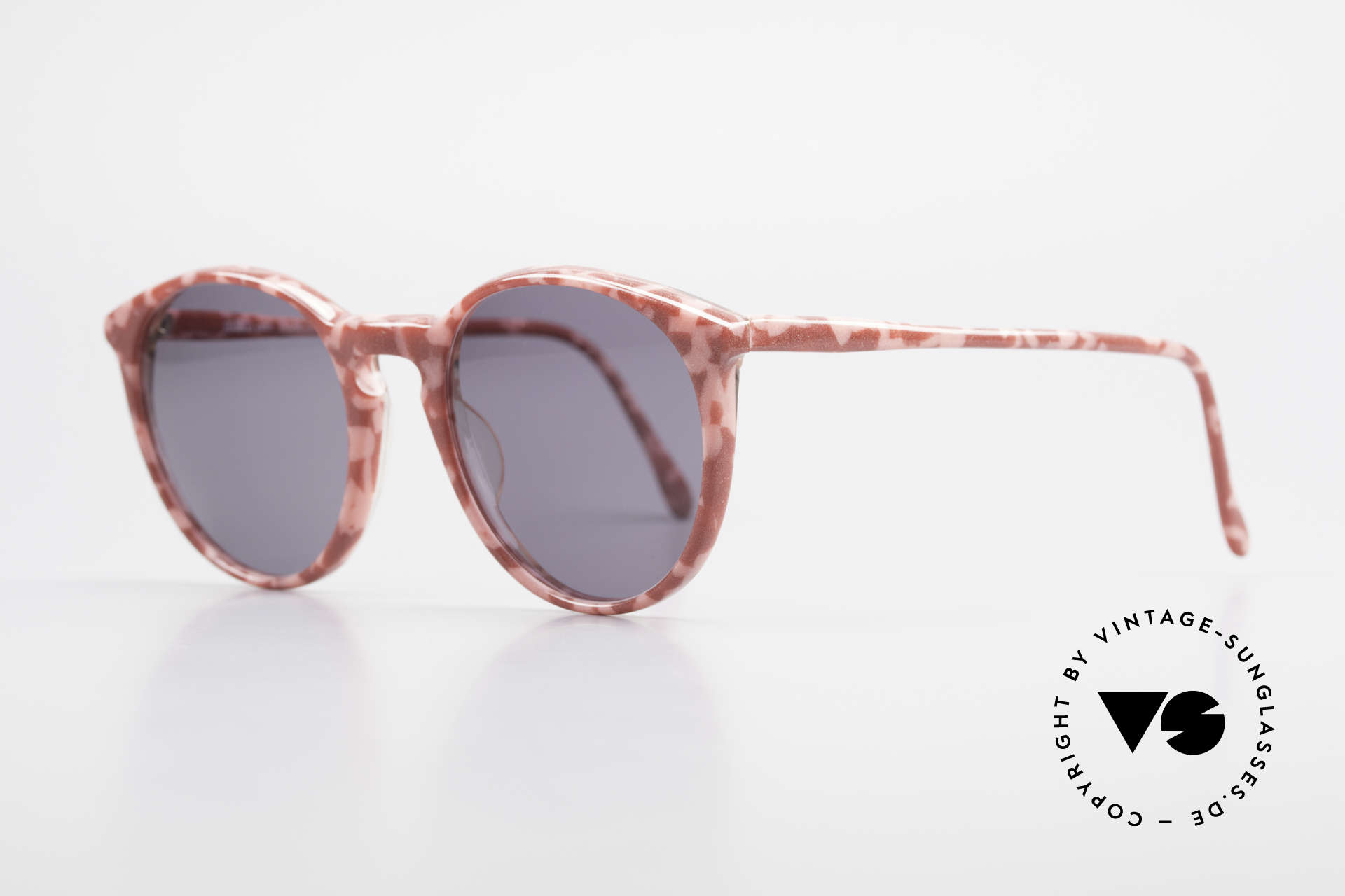Alain Mikli 901 / 172 Panto Shades Red Pink Marbled, terrific frame pattern: ruby-colored/pink marbled, Made for Women
