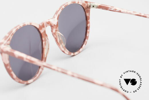 Alain Mikli 901 / 172 Panto Shades Red Pink Marbled, NO RETRO shades, but an old ORIGINAL from 1989, Made for Women