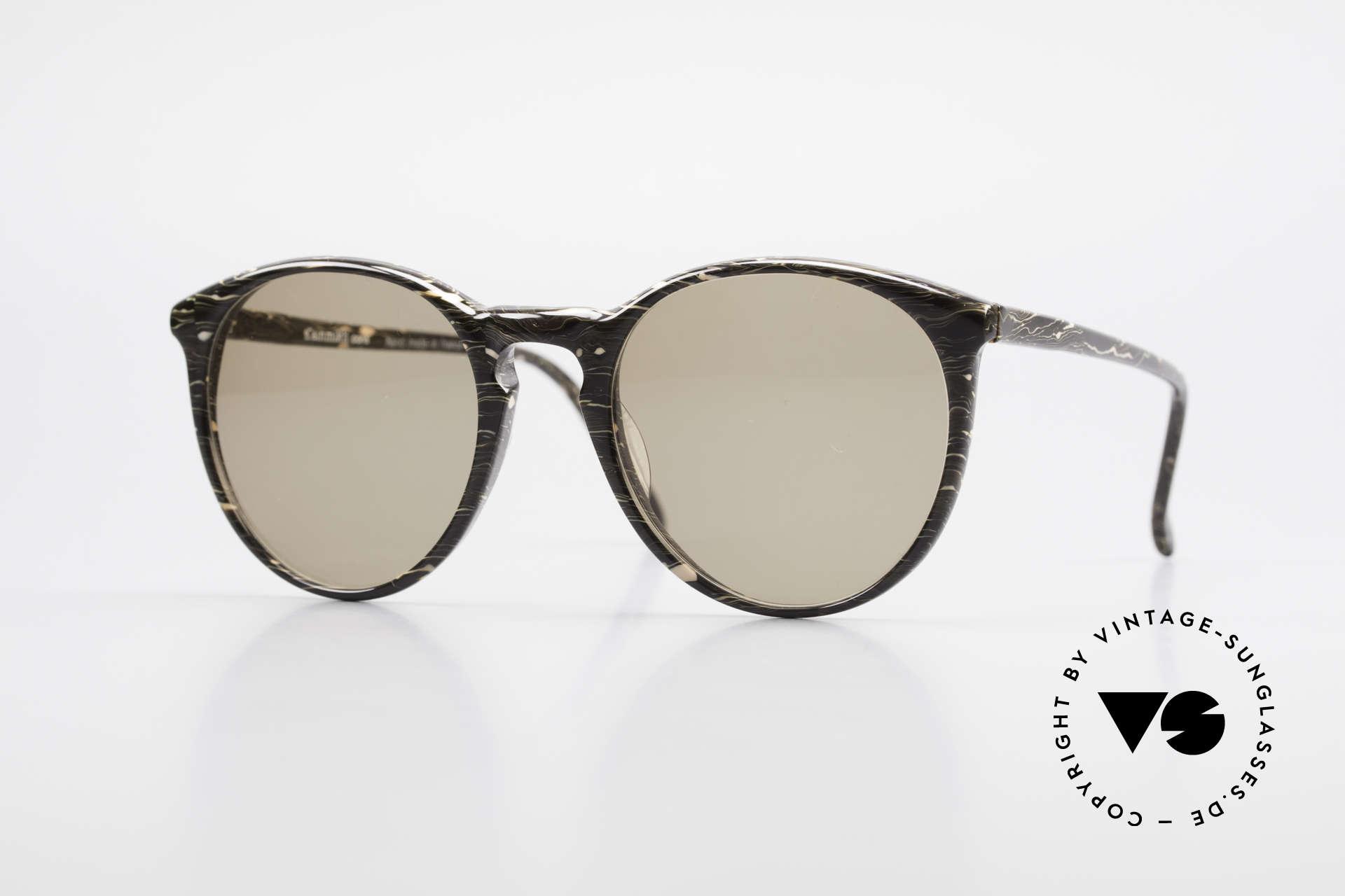 Alain Mikli 901 / 429 Brown Marbled Panto Shades, elegant VINTAGE Alain Mikli designer sunglasses, Made for Men and Women