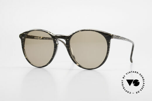 Alain Mikli 901 / 429 Brown Marbled Panto Shades Details