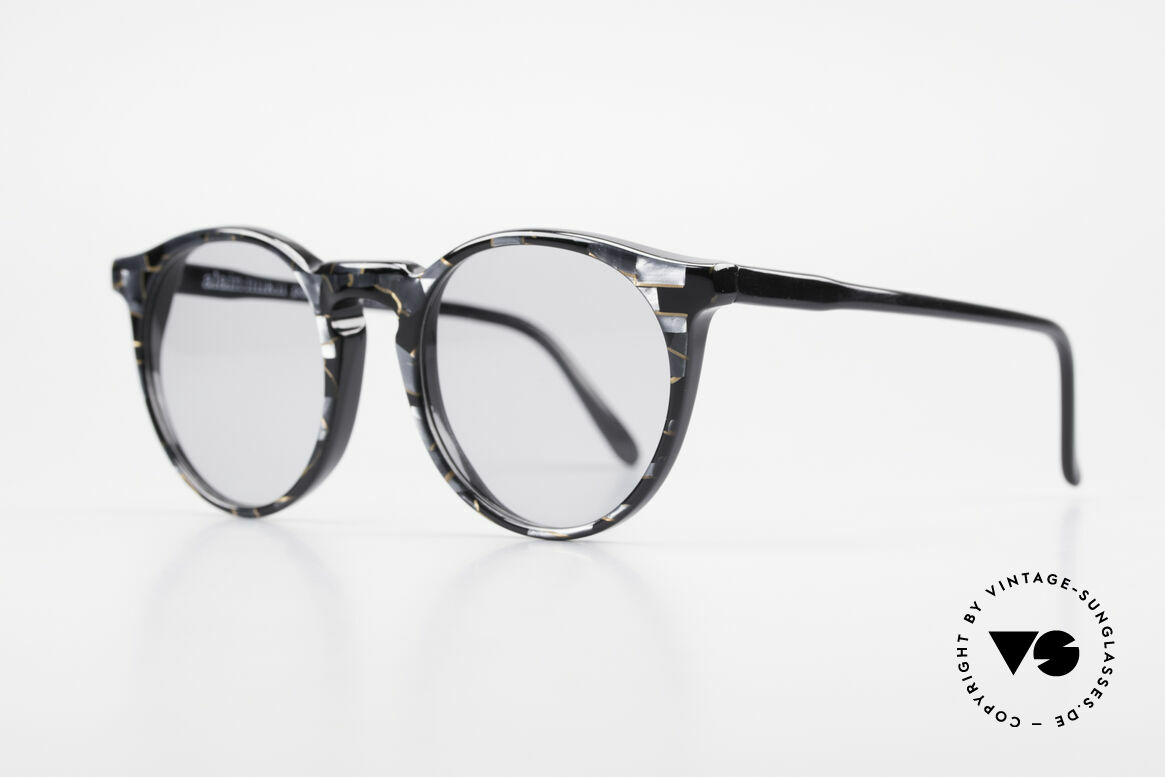 Alain Mikli 034 / 889 Panto Designer Shades 80's, inspired by the 1960's 'Tart Optical Arnel' frames, Made for Men and Women