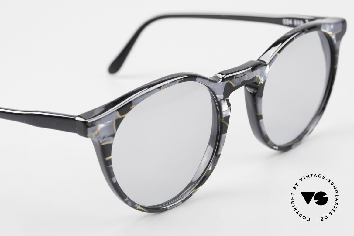 Alain Mikli 034 / 889 Panto Designer Shades 80's, NO RETRO frame, but an old ORIGINAL from 1989, Made for Men and Women