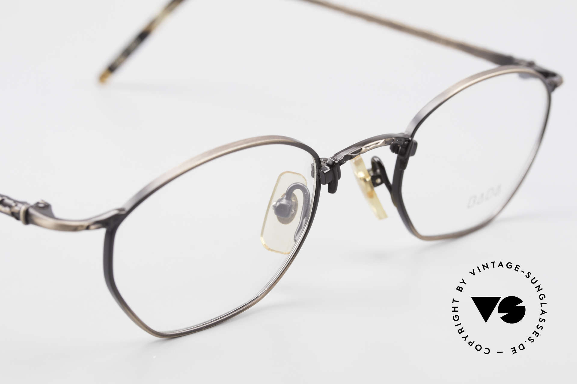 Bada BL1353 Oliver Peoples Eyevan Style, NO RETRO fashion-specs, but a unique old ORIGINAL, Made for Men and Women