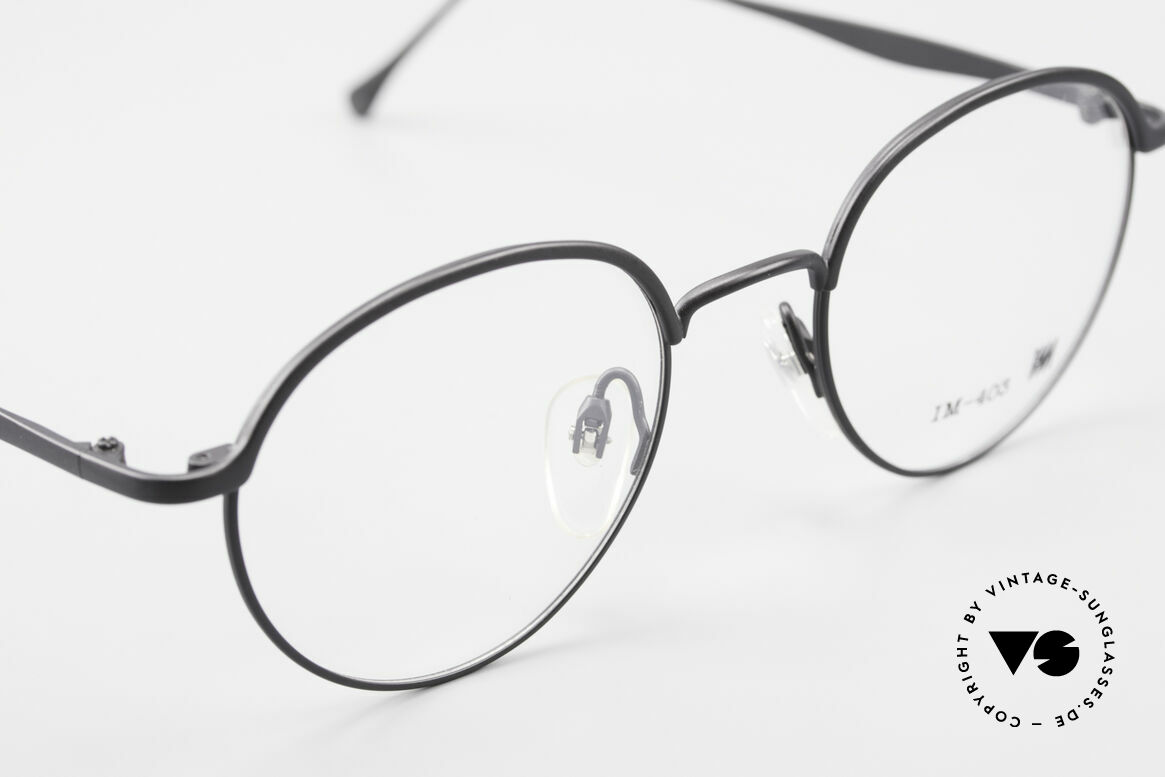 Miyake Design Studio IM403 Connoisseur Panto Glasses 90's, unworn 90's single item; NO RETRO eyeglasses!, Made for Men and Women
