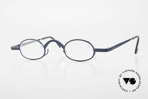 Theo Belgium Brave Oval Vintage Eyeglasses 90's Details