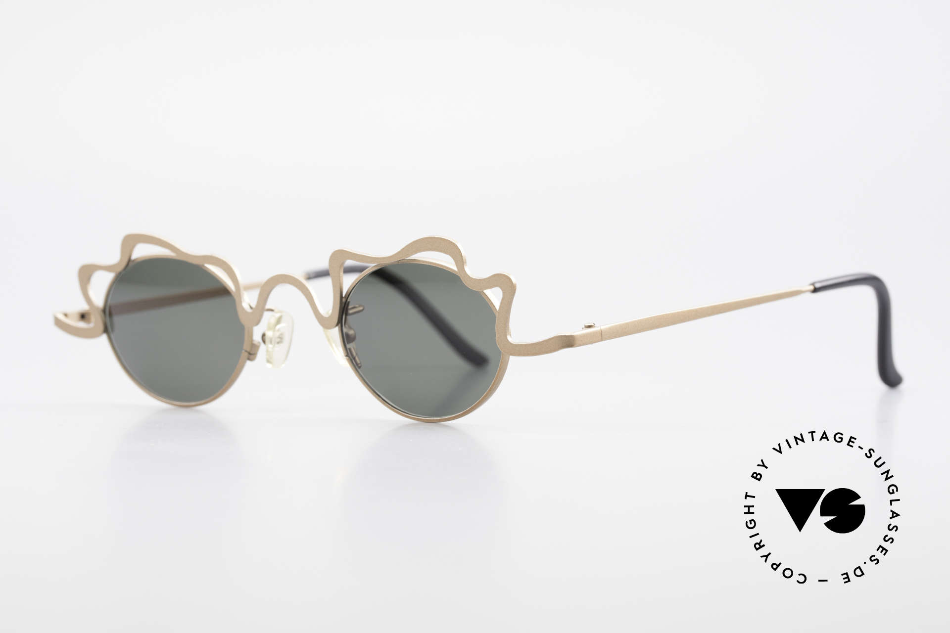 Theo Belgium Tortelini Spaghetti Sunglasses Ladies, made for the avant-garde, individualists; trend-setters, Made for Women