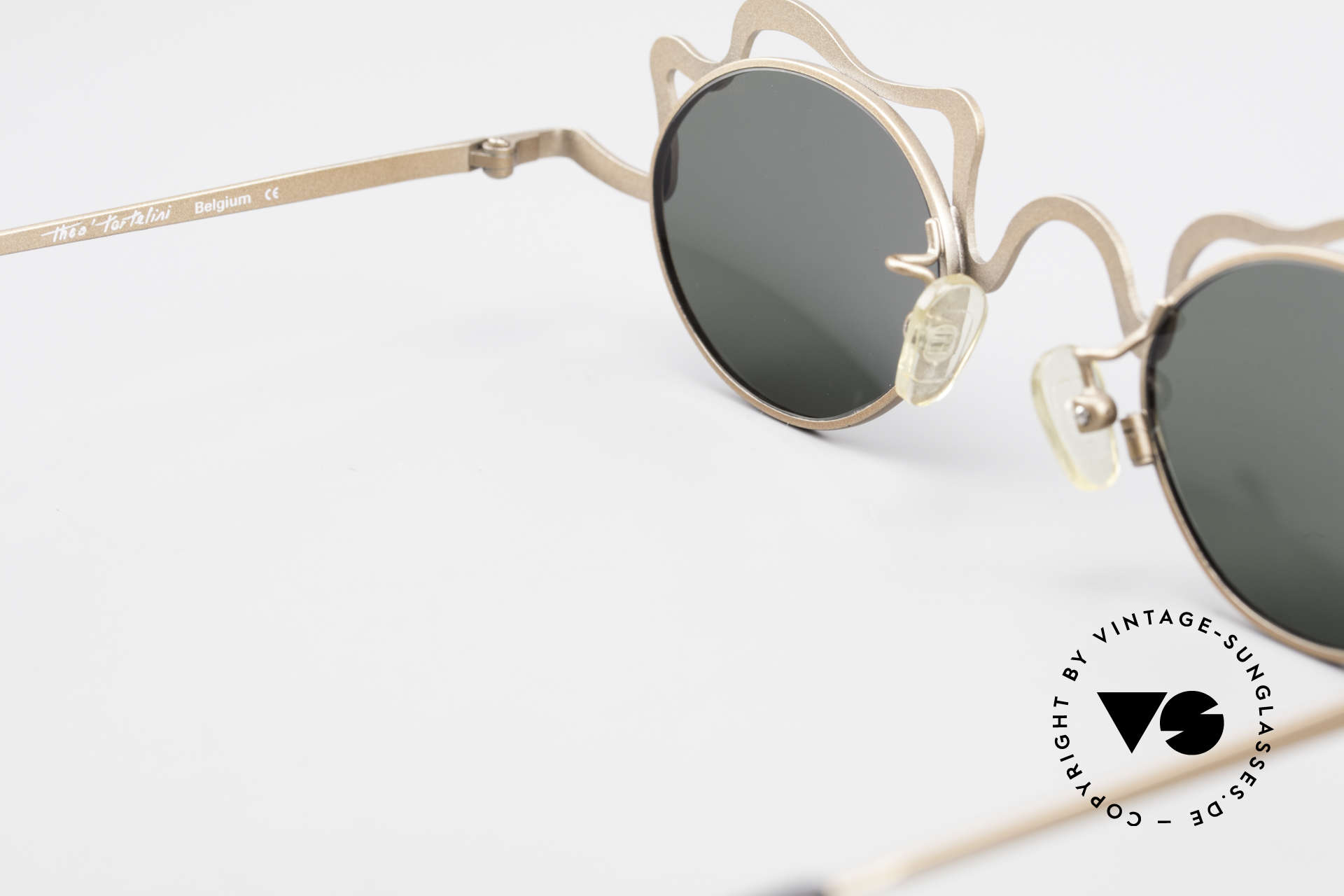 Theo Belgium Tortelini Spaghetti Sunglasses Ladies, so to speak: vintage sunglasses with representativeness, Made for Women