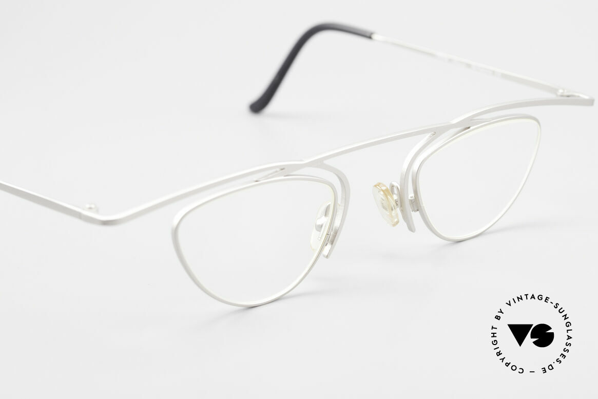 Theo Belgium Rhum Avant-Garde Ladies Glasses XL, unworn vintage eyeglass-frame (with representativeness), Made for Women