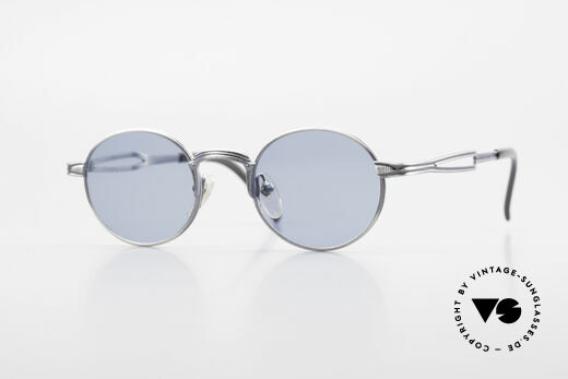 Jean Paul Gaultier 55-7107 Small Round Vintage Shades Details