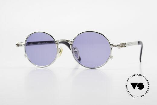 Jean Paul Gaultier 56-4178 Round Industrial Vintage Frame Details