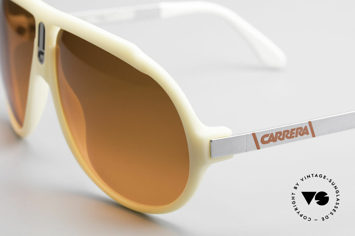 Carrera 5512 Miami Vice Sunset Sunglasses, unworn vintage rarity with ultra-rare SUNSET sun lenses, Made for Men