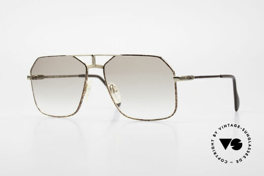 Cazal 721 Old 80's Men's Aviator Frame Details