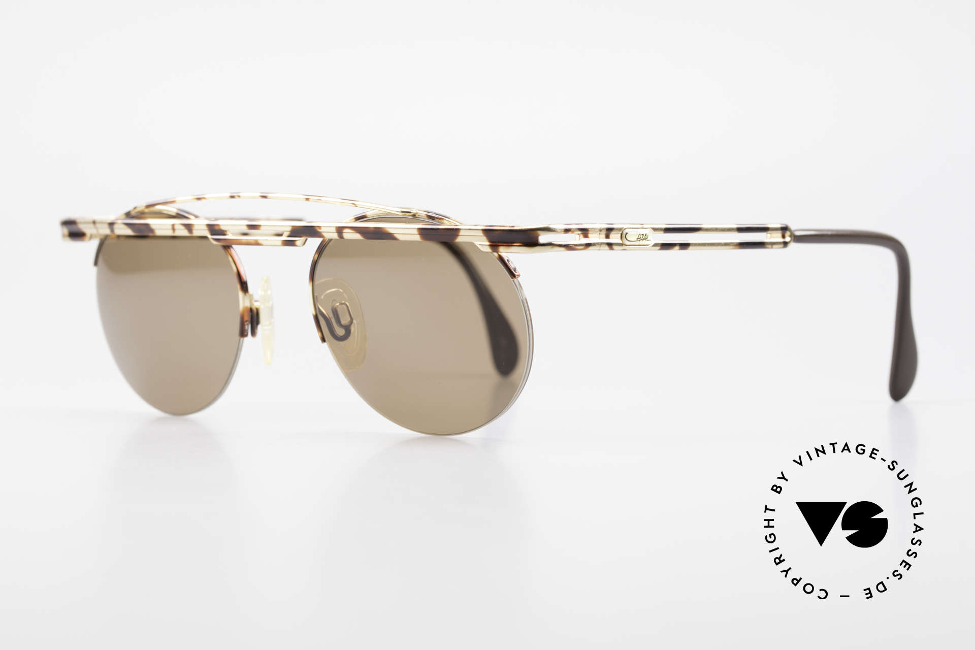 Cazal 748 Rare Vintage No Retro Shades, costly varnishing (characteristical for all vintage Cazals), Made for Men and Women