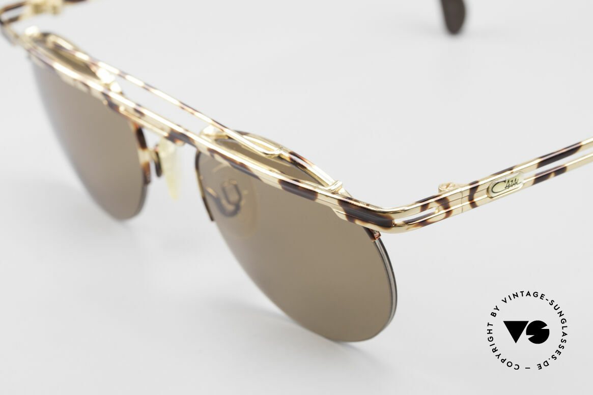 Cazal 748 Rare Vintage No Retro Shades, color description in the old catalog: gold-brown mottled, Made for Men and Women