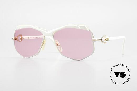 Cazal 230 Pink Cazal Sunglasses 80's Details