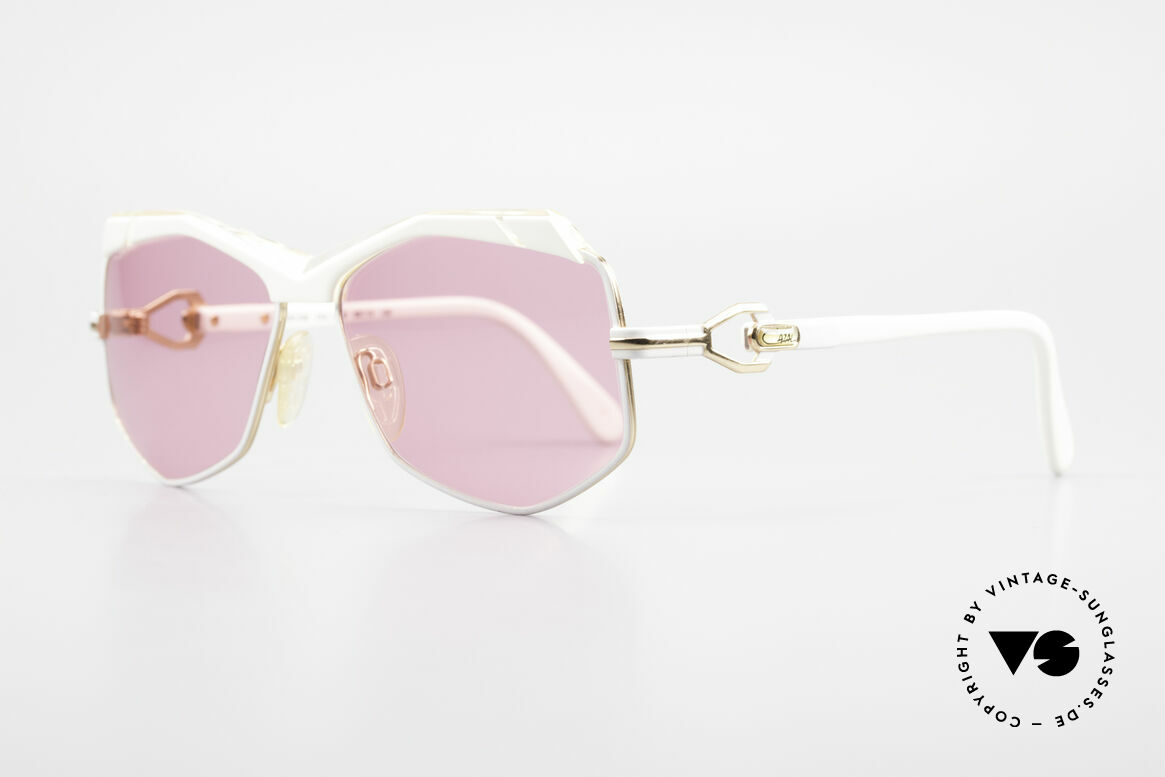 Cazal 230 Pink Cazal Sunglasses 80's, accessory of the US HipHop scene in the 1980's, Made for Women