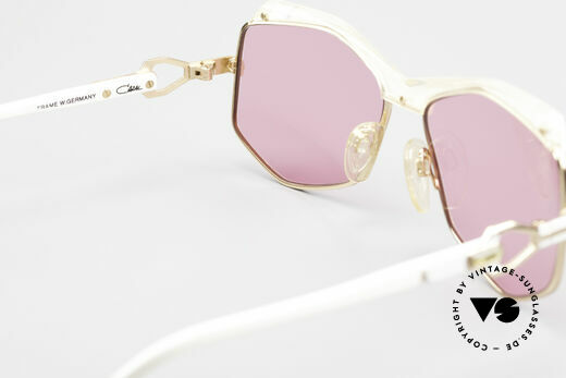 Cazal 230 Pink Cazal Sunglasses 80's, PINK: see the world through rose-colored glasses, Made for Women