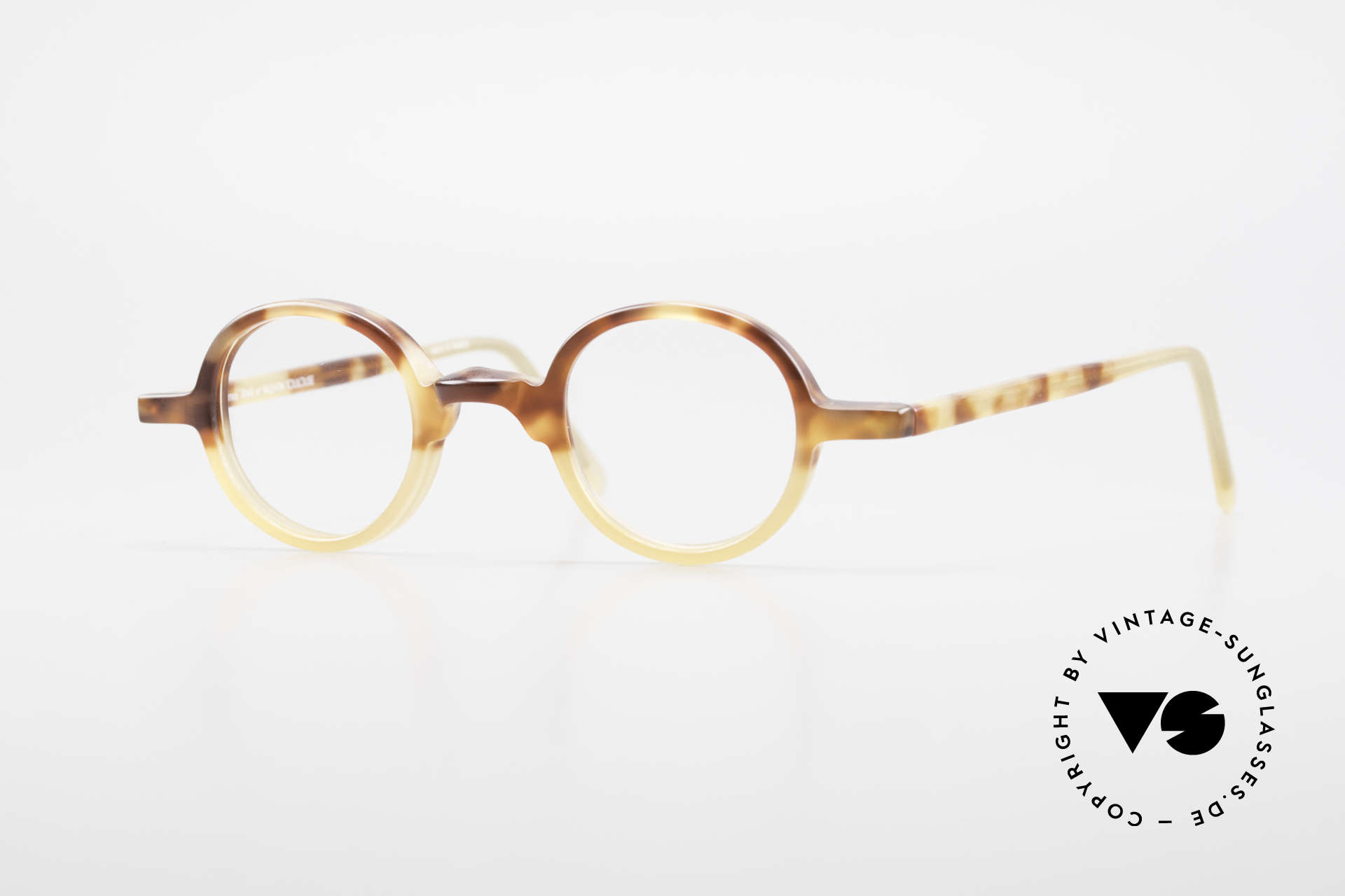 Anne Et Valentin Albert Old Round Vintage 80's Glasses, vintage glasses by 'Anne Et Valentin', Toulouse, Made for Men and Women