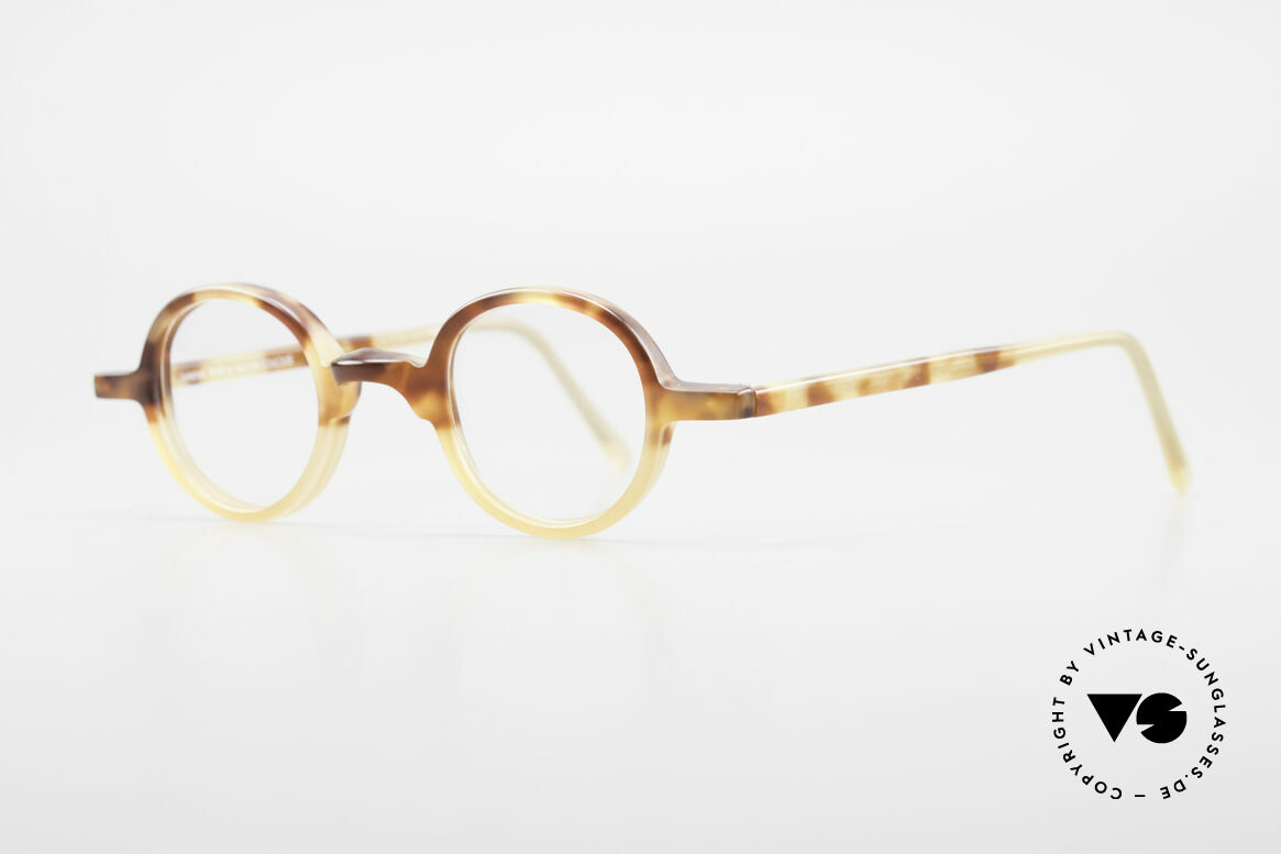 Anne Et Valentin Albert Old Round Vintage 80's Glasses, spent their lives creating their own collection, Made for Men and Women