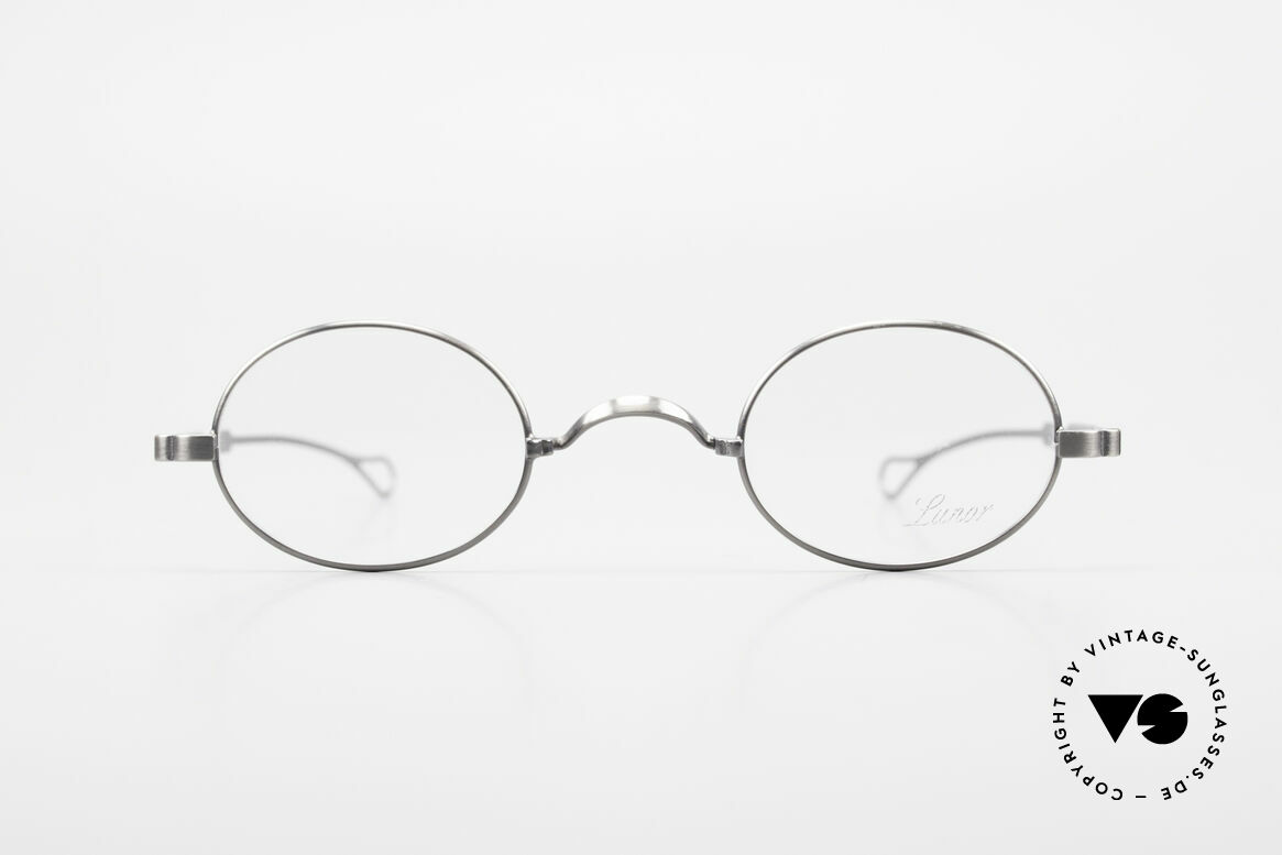 Lunor Oval T-22 Titanium Vintage Eyeglasses, traditional German brand; quality handmade in Germany, Made for Men and Women