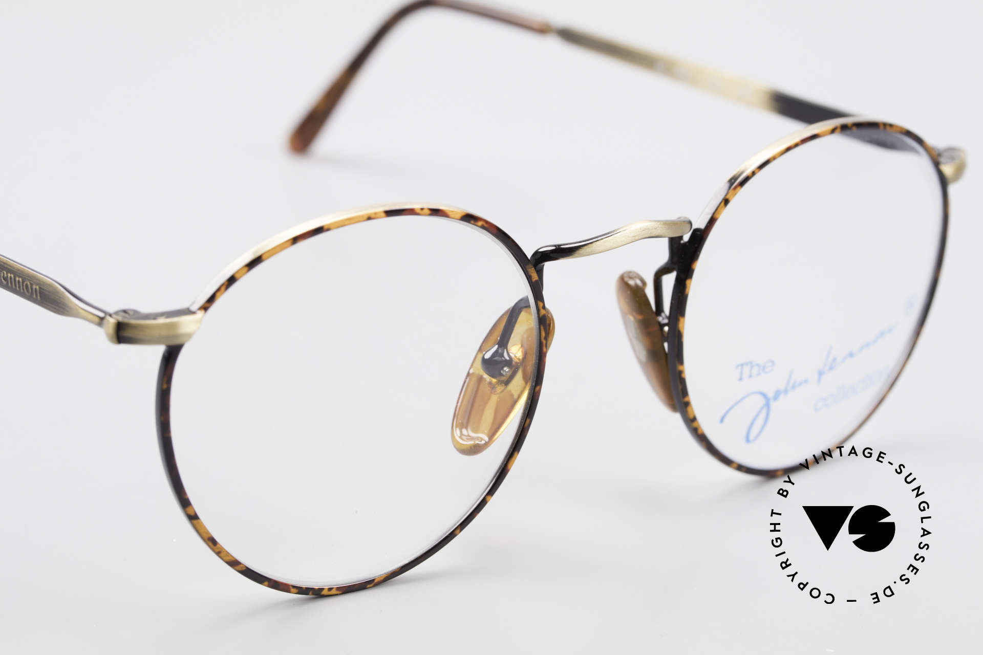 John Lennon - The Dreamer Very Small Vintage Glasses, NO RETRO PANTO EYEGLASSES; but a rare old ORIGINAL, Made for Men and Women