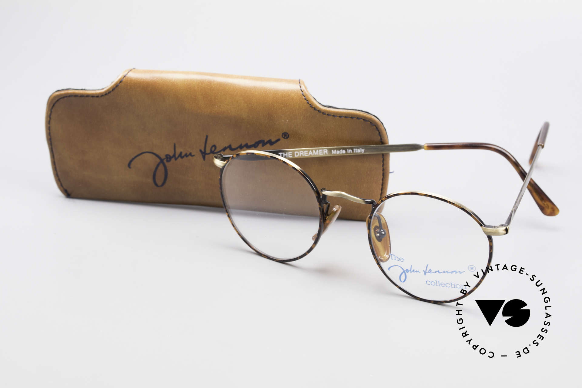 John Lennon - The Dreamer Very Small Vintage Glasses, never worn (like all our vintage John Lennon eyeglasses), Made for Men and Women