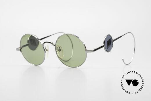 Jean Paul Gaultier 58-0103 4lens Design With Side Shields Details