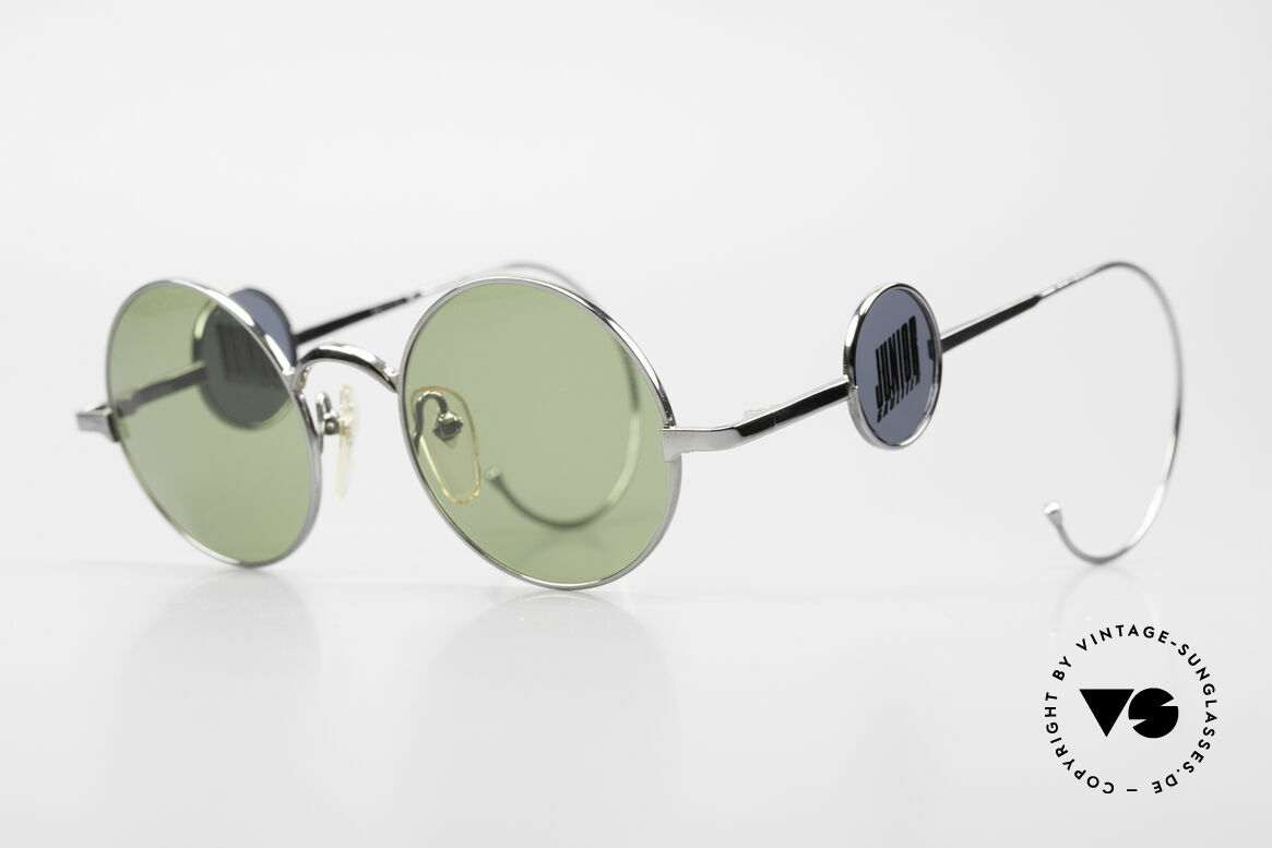 Jean Paul Gaultier 58-0103 4lens Design With Side Shields, a designer highlight from the 90's - just rare & fancy, Made for Men and Women
