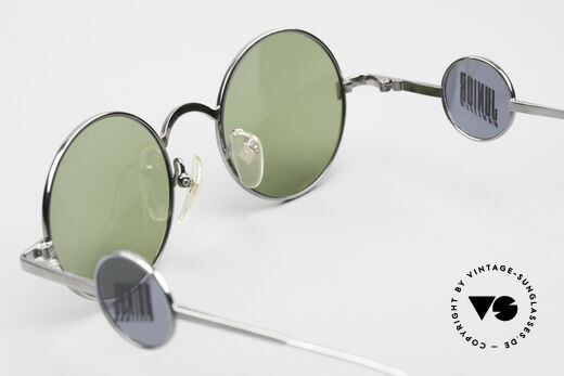 Jean Paul Gaultier 58-0103 4lens Design With Side Shields, NO RETRO fashion, but a rare old ORIGINAL from 1997, Made for Men and Women