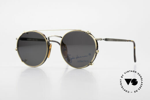 John Lennon - Imagine Panto Glasses With Clip On Details