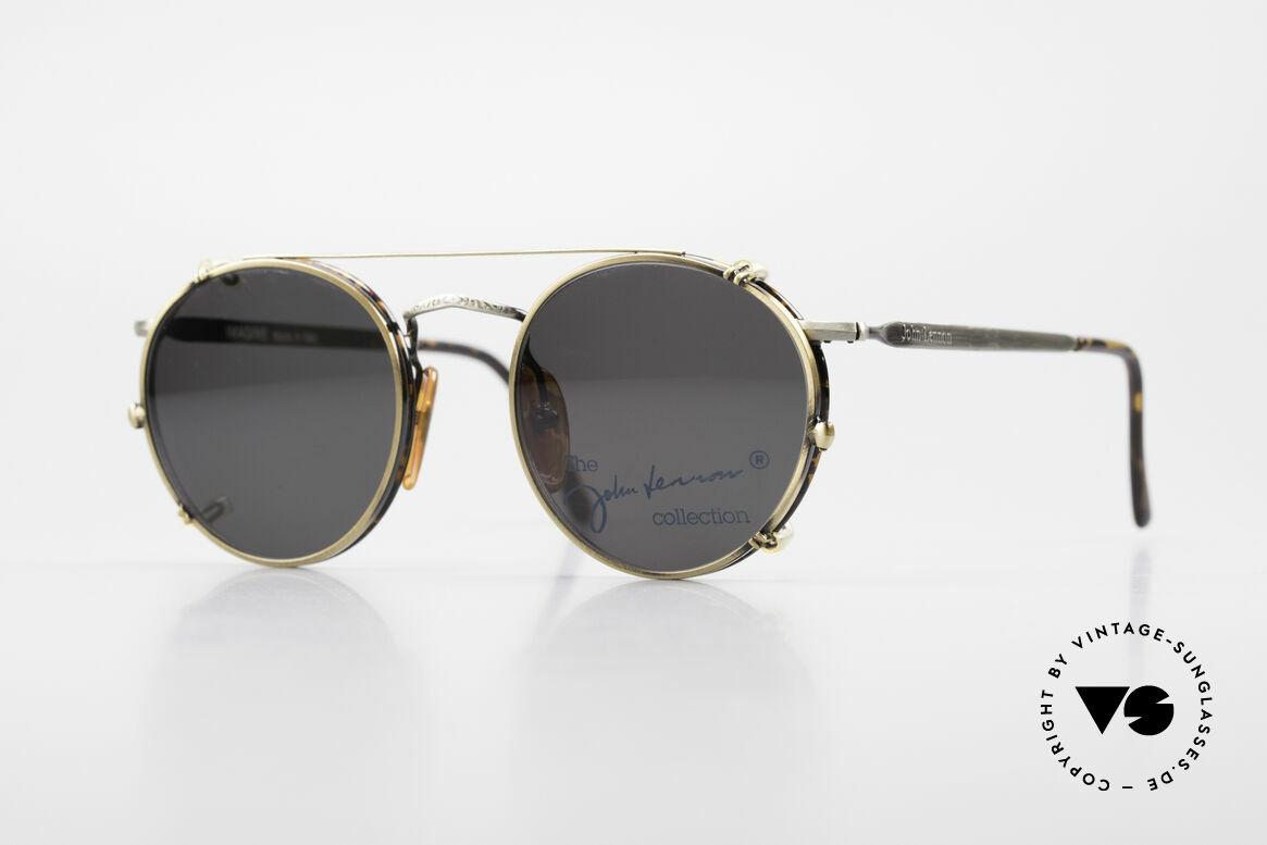 John Lennon - Imagine Panto Glasses With Clip On, vintage glasses of the original 'John Lennon Collection', Made for Men and Women