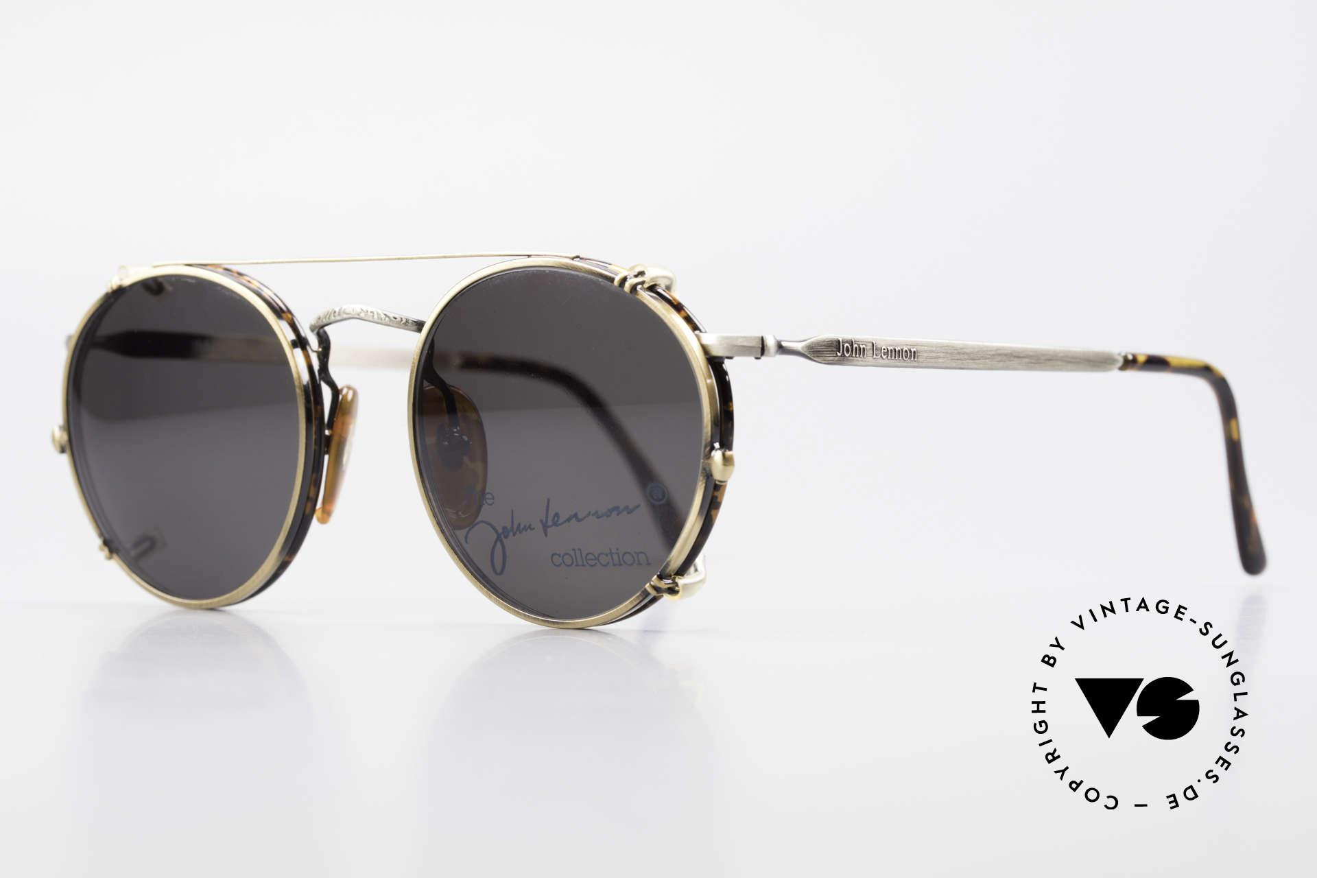 John Lennon - Imagine Panto Glasses With Clip On, all models named after famous J.Lennon / Beatles songs, Made for Men and Women