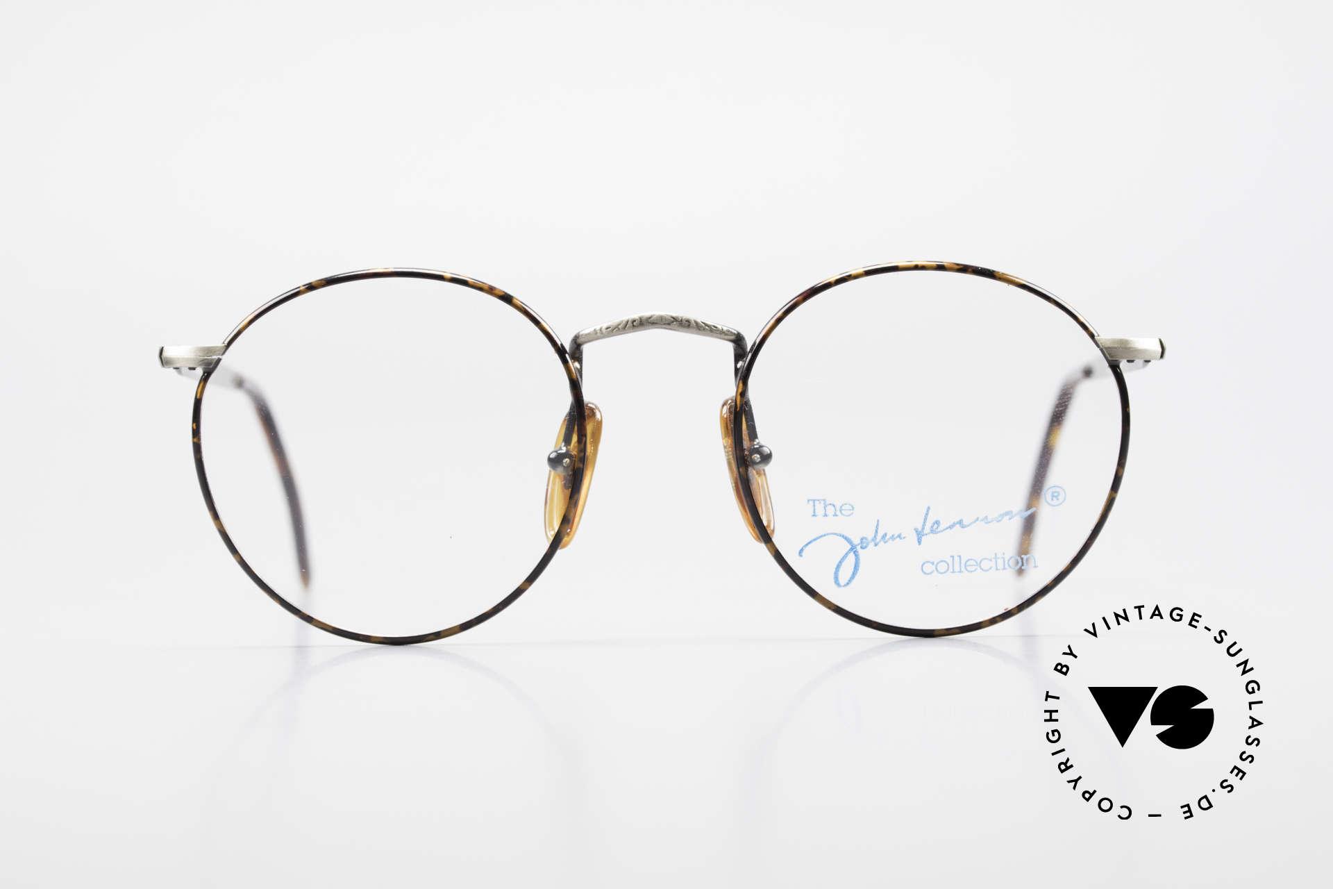 John Lennon - Imagine Panto Glasses With Clip On, never worn (like all our vintage John Lennon sunglasses), Made for Men and Women