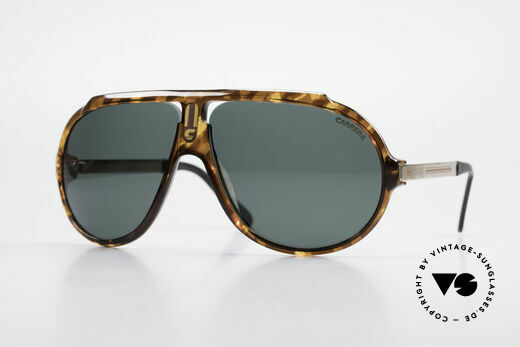 Carrera 5512 80's Sunglasses Don Johnson Details