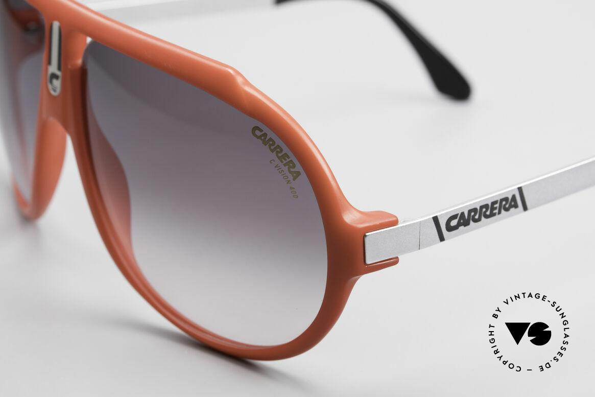 Carrera 5512 80's Sunglasses Miami Vice, unworn rarity with orig. Carrera C-VISION 400 sun lenses, Made for Men