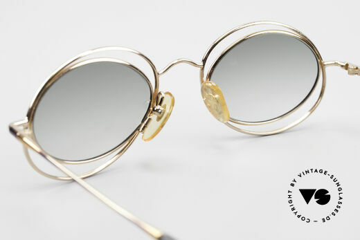 Casanova LC16 Enchanting Ladies Sunglasses, NO RETRO frame, but a unique old designer ORIGINAL, Made for Women