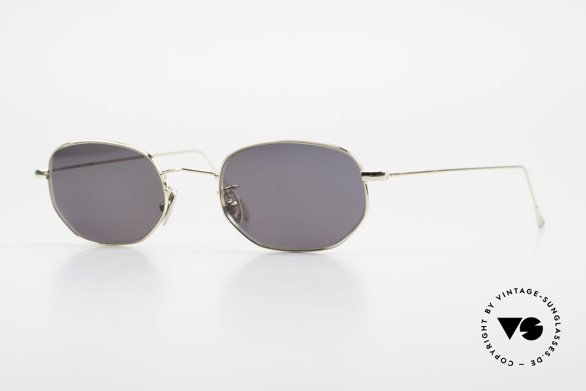 Cutler And Gross 0370 Classic Designer Sunglasses, CUTLER and GROSS designer shades from the late 90's, Made for Men and Women