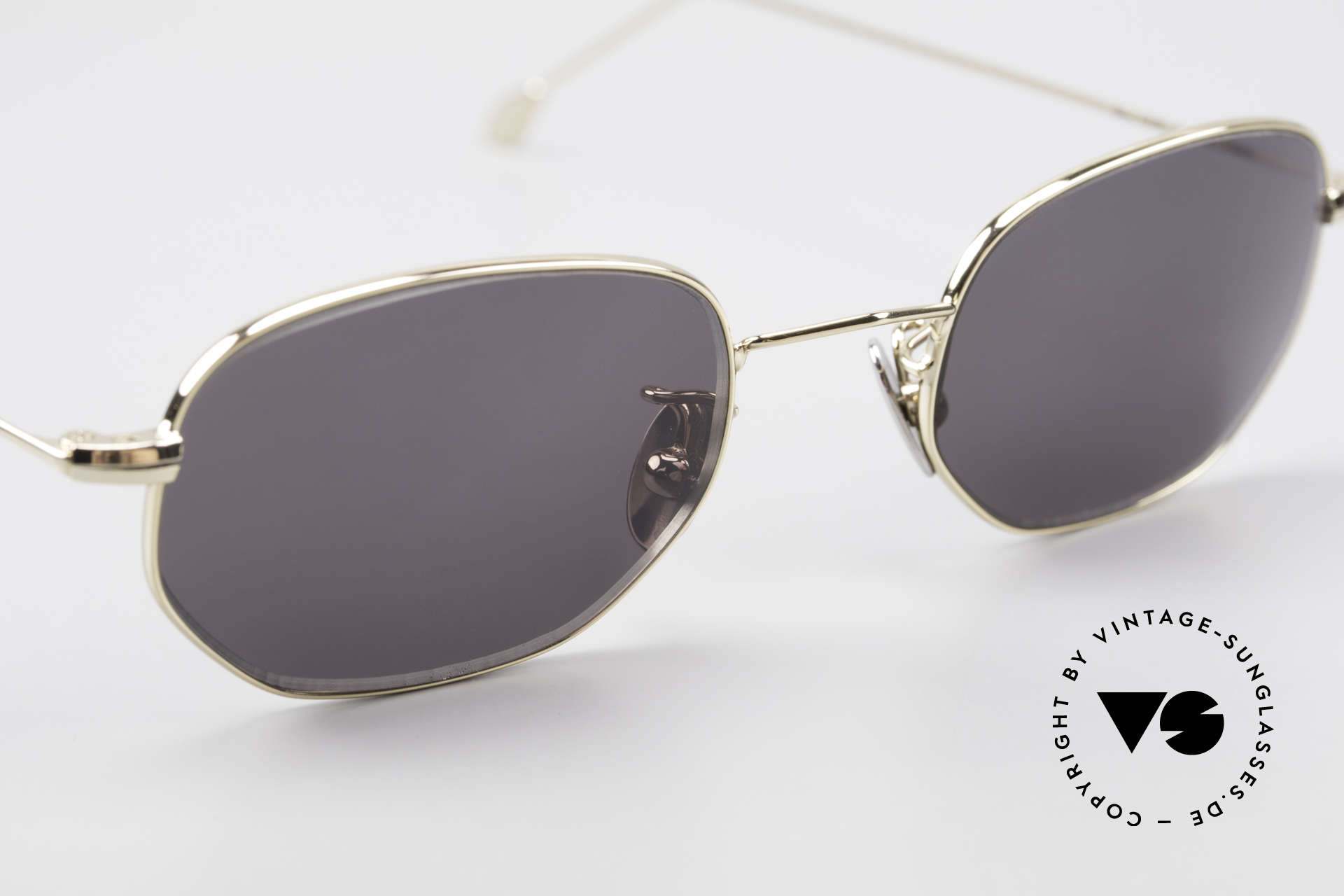 Cutler And Gross 0370 Classic Designer Sunglasses, never worn; like all our vintage Cutler & Gross eyewear, Made for Men and Women