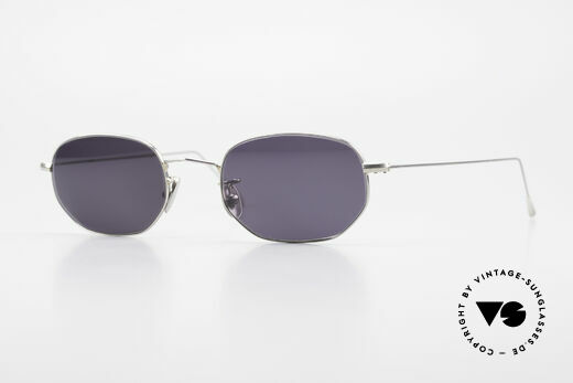 Cutler And Gross 0370 Classic Unisex Sunglasses 90s Details