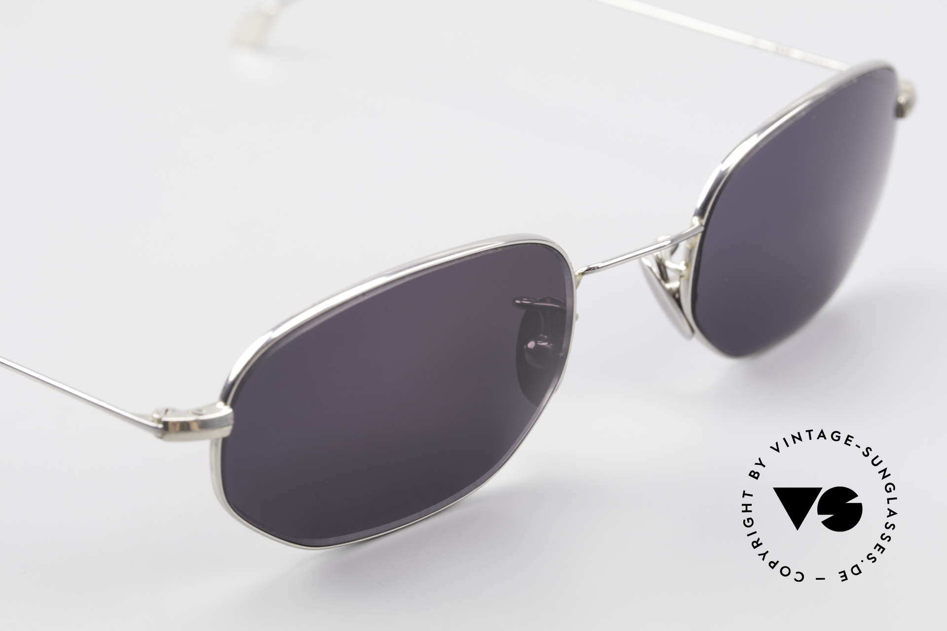 Cutler And Gross 0370 Classic Unisex Sunglasses 90s, never worn; like all our vintage Cutler & Gross eyewear, Made for Men and Women