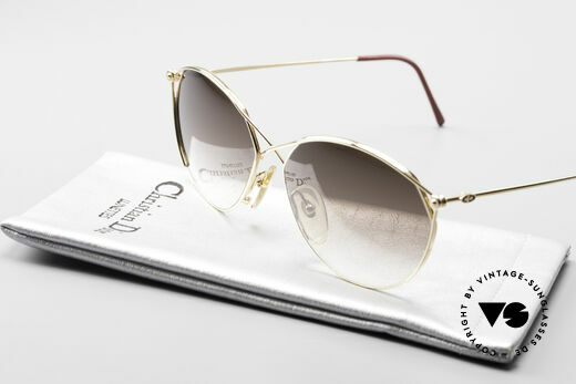 Christian Dior 2390 Ladies Designer Sunglasses, NO retro sunglasses, but an old rarity from 1989, Made for Women
